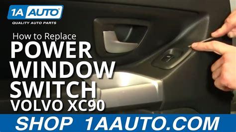 install remove power window switch volvo xc   aautocom youtube