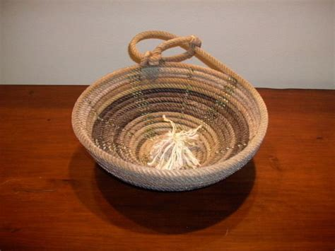 rope crafts for 27 best images about rope bowl projects on