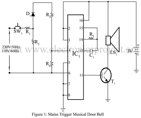 wiring diagram for mains doorbell gallery wiring diagram