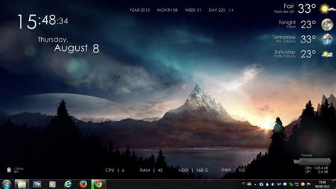 hd wallpapers for pc rar serenity rogers1967 rainmeter by rogers1967 on deviantart
