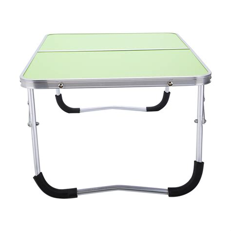 Folding Bed Tray Portable Picnic Cing Folding Table Laptop Desk Stand Pc Notebook Bed Tray New Ebay