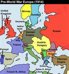 Ww1 Europe Map by Europe Before World War 1 Map 1914 Images Amp Pictures Becuo
