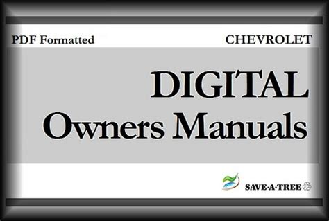 2004 chevy chevrolet impala owners manual download