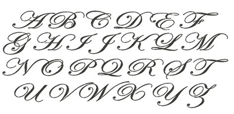 meringue designs edwardian script monogram