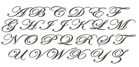 meringue designs edwardian script monogram