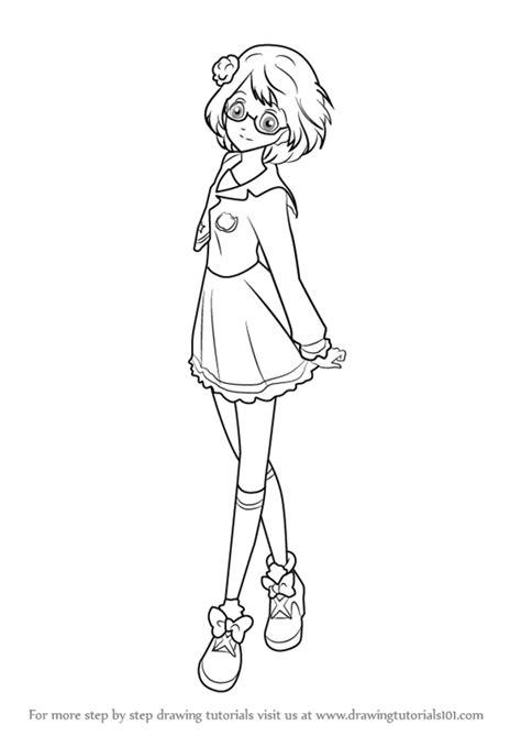 Learn How to Draw Koharu Nanakura from Aikatsu Stars