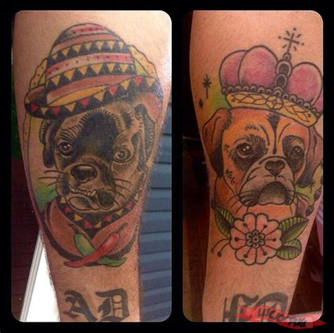 french cross tattoos 16 boston terrier tattoos designs 50 cool skull
