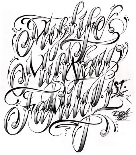 www tattoo lettering fonts com custom script lettering tattoo design