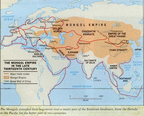 mongol empire map would the mongols conquered europe if genghis khan had not died page 3 historum