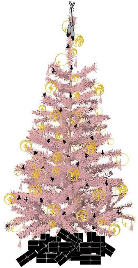 repetto s ballet themed christmas tree at grand h 244 tel de