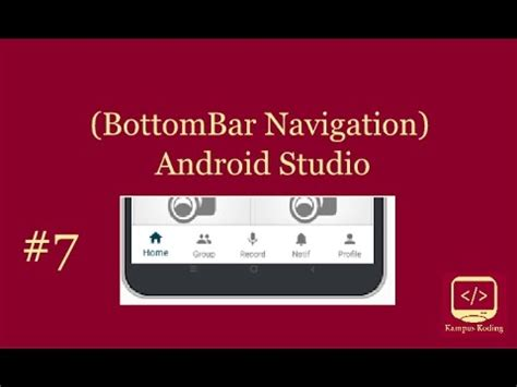 tutorial android studio gps android studio tutorial material design bottombar