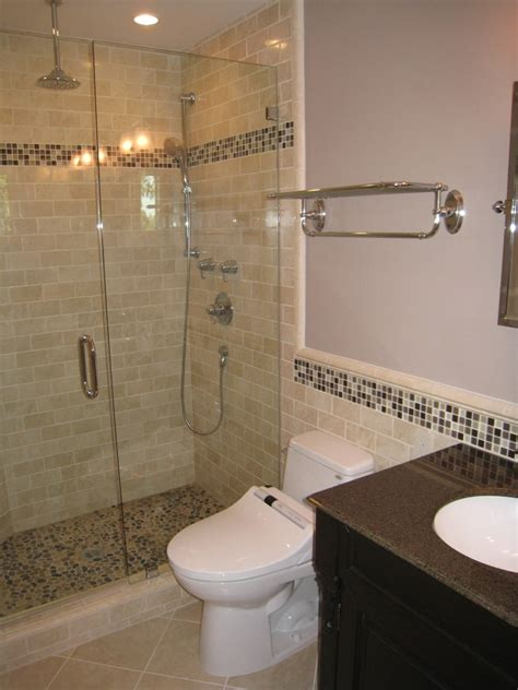 tan bathroom tile beige subway tile bathroom contemporary with none