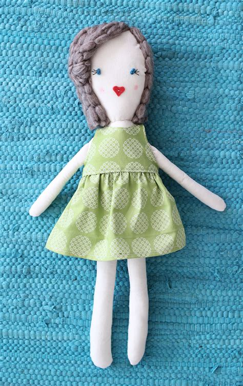 Handmade Doll Patterns Free - traditional rag doll diy a beautiful mess