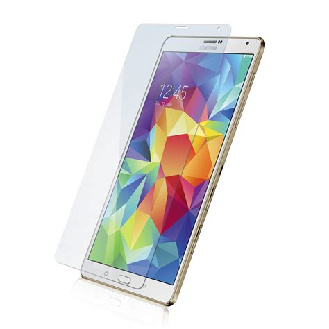 Tempered Glass Samsung Tab S roocase tempered glass screen protector rc galx tab s 8 4 tg018