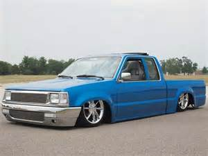 custom 1988 mazda b2200 feature truck mini truckin