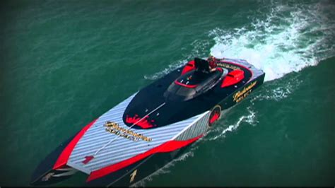 bacardi silver boat budweiser select extreme boat areal filming youtube