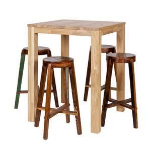 table haute table de bar et bar comptoir pour tous les