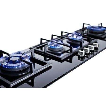 summit cooktop summit appliance summit 43 gas cooktop with 4 burners