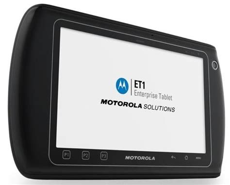 Hp Tablet Motorola motorola et1 rugged tablet ubergizmo