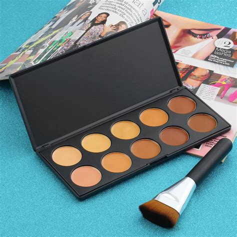 Dijamin Countour Palette 4 Colours No 1 new professional 10 color make up camouflage brand