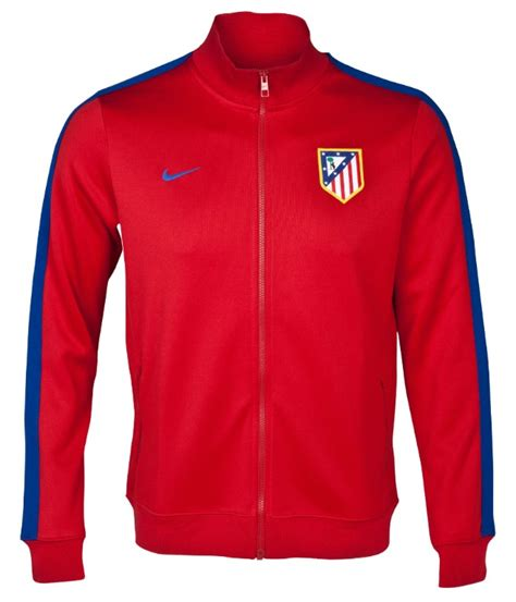 pusat jersey jacket manchester united track red 2014 2015 13 14 atletico madrid red track jacket atletico madrid
