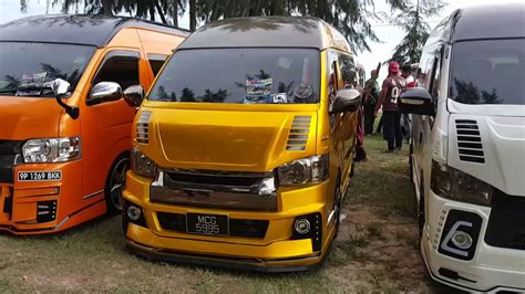 nissan urvan escapade modified lepak santai hiace se malaysia 31 oct 2016 port