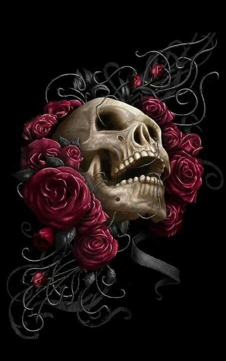 with roses sugar skulls amp other skull art pinterest