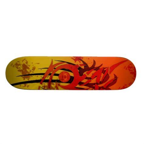 Handcrafted Skateboards - tribal sunset custom skateboard zazzle