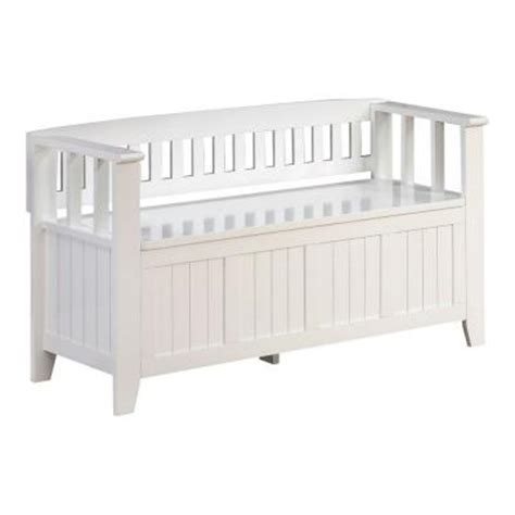 solid wood entry bench simpli home acadian 48 in w solid wood entryway bench in