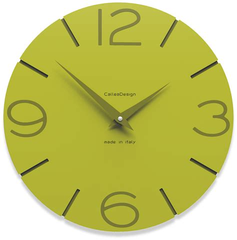 Lasika W F 82 Green orologi da parete verdi smile 23 colori disponibili