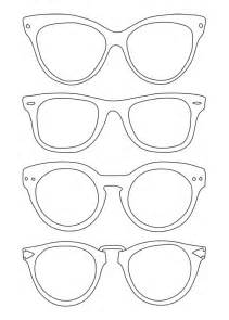 sunglasses template use for back to school night for