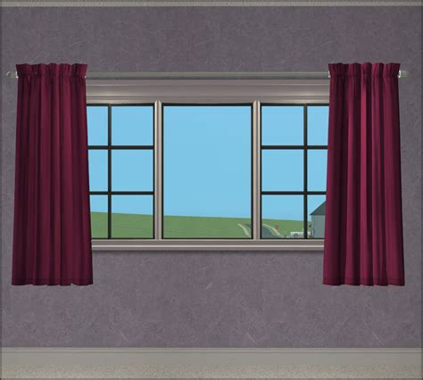 sims 3 curtains mod the sims 3 tile simply elegant curtains