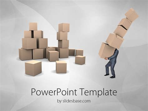 template ppt logistics free delivery and transport powerpoint templare slidesbase