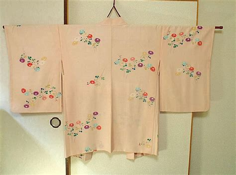 L 799 Adorable 2 Colours Kimono Best Seller japanese traditional vintage kimono jacket haori for size pink color ebay