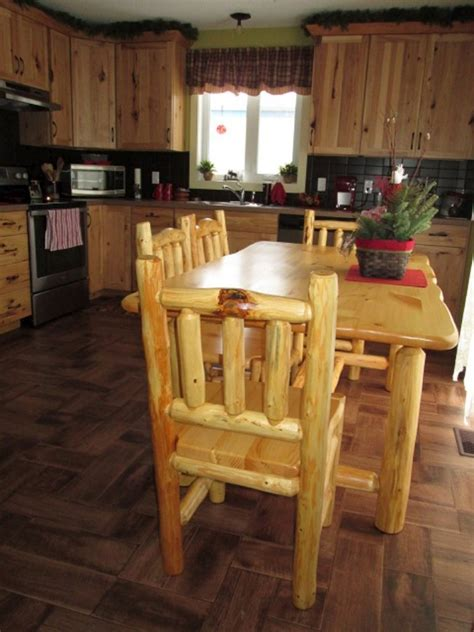 log dining room table and chairs on behance rustic log dining room furniture higher ground log