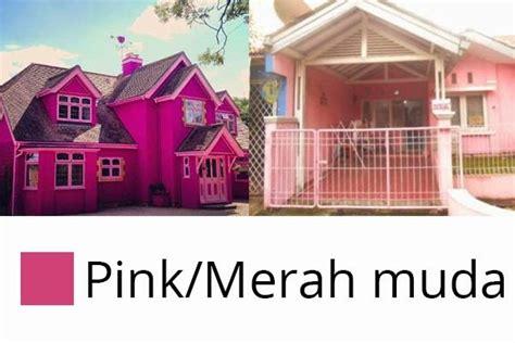 ide gambar rumah minimalis warna pink gambar rumah