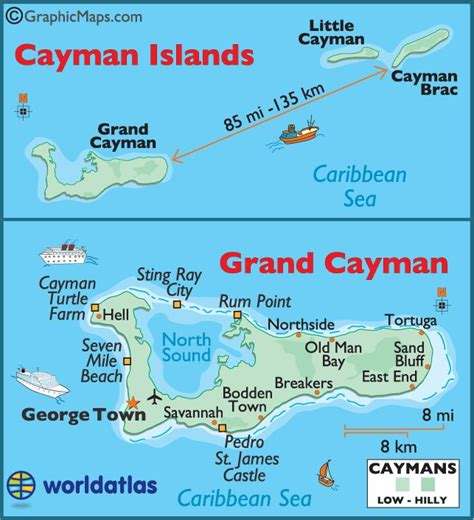 grand and map cayman islands grand cayman maps caribbean
