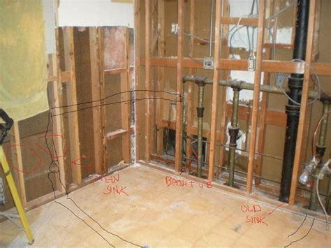 Moving Sink Plumbing by Moving A Kitchen Sink