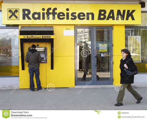 reifaisen bank raiffeisen bank editorial stock photo image 18000848