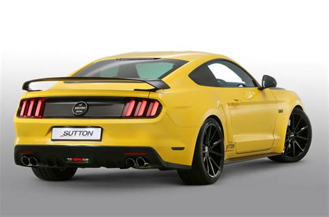 tuning mustang ford mustang v8 gets 700bhp with clive sutton tuning pack