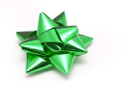 metallic green christmas bow 8261 stockarch free stock
