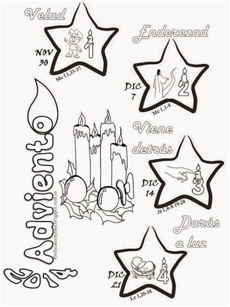 imagenes para colorear corona de adviento blog para una navidad feliz calendarios de adviento 2014