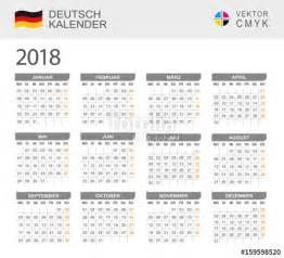 Calendar 2018 Cdr Quot Kalender 2018 Quot Stock Image And Royalty Free