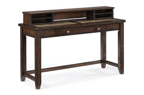 Magnussen Furniture by Magnussen Home Allister Sofa Table Desk Dunk Bright