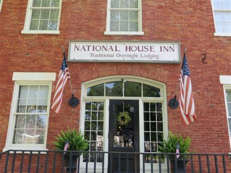 national house inn national house entrance from the town water fountain picture of national house inn