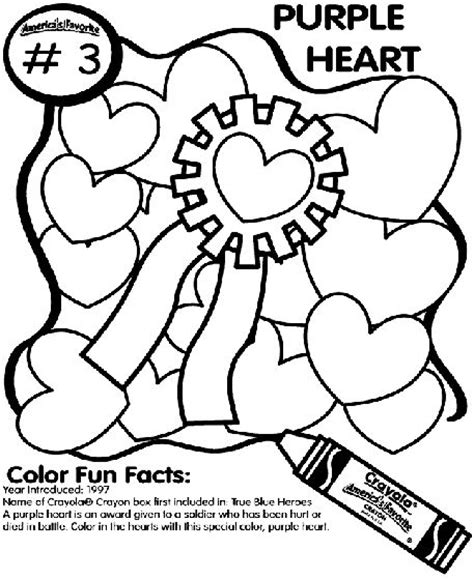 purple heart coloring page no 3 purple heart coloring page coloring pages pinterest
