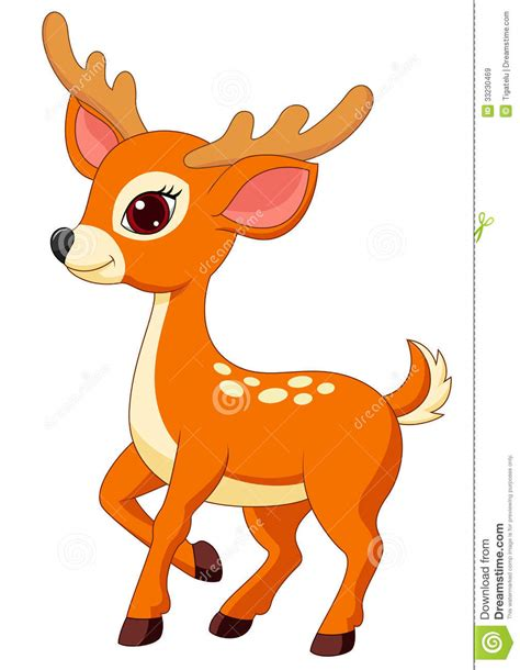 animated deer fawn clipart