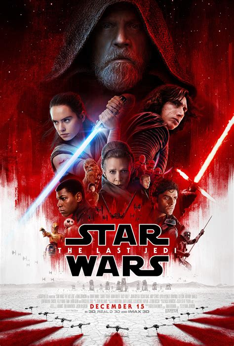 wars the last jedi the official collector s edition books wars the last jedi theatrical poster revealed