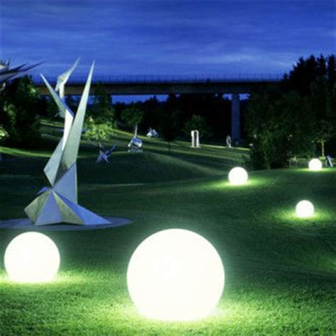 ball with light inside sphere lighting control interior design