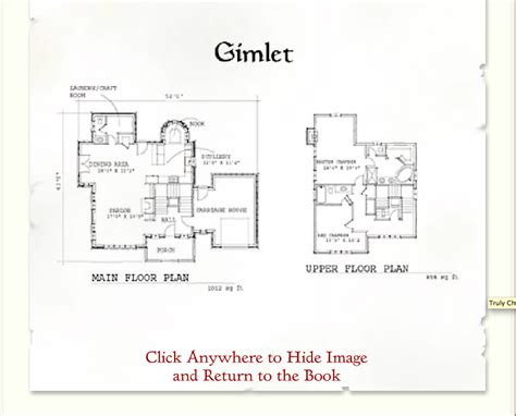 storybook homes gimlet floor plan cottage plans